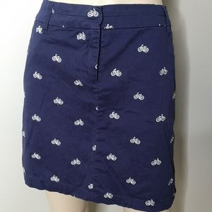 Cambridge Casual Bicycle Classic Fun Mini Skirt